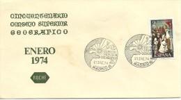 MAT.ESPAÑA 1974 - Geografia