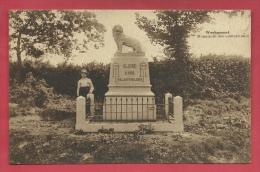 Werbomont - Monument Des Combattants, Personnage - 1937 ( Voir Verso ) - Ferrieres