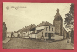 Merbes-le-Château - Eglise Et ... Maisons Environnantes - 1922 ( Voir Verso ) - Merbes-le-Château