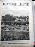 Le Patriote Illustré N°3 Du 18/01/1920 Bruxelles Zeebrugge Schaerbeek Cambier Congo Anversville Russie Berlin Bombay - Collections