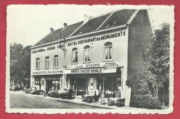 Braine-l'Alleud ( Waterloo ) - Hôtel-Restaurant-Pension De Famille Des Monuments  - Terrasse ( Voir Verso ) - Braine-l'Alleud