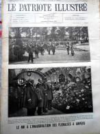 Le Patriote Illustré N°19 Du 09/05/1920 Mariemont Bruges Anvers Albert Zeebrugge Paris Angleterre - Collections