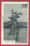Ieper / Ypres - Ecole D'Equitation - Saut En Hauteur 2 Mètres ( Verso Zien ) - Ieper