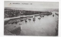 (RECTO / VERSO) RIVA BELLA EN 1932 - N° 12 - VUE GENERALE AVEC BATEAUX - LEGER PLI ANGLE BAS A DROITE - CPA - Riva Bella