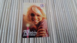 Prepaidcard 70 Th Birtday  US (Mint,New ) Only 5000 Made 2 Scans Rare - Sonstige