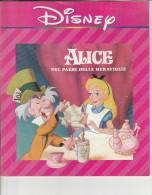 DC2) DISNEY ALICE NEL PAESE DELLE MERAVIGLIE Ed ROY FILM 1990 - 24 PAGINE IN BUONE CONDIZIONI  - COPERTINA MORBIDA  (VED - Disney