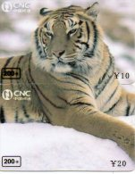 Puzzle Tigre Animal Félin Télécarte  Phonecard  Telefonkarte P54 - Puzzles