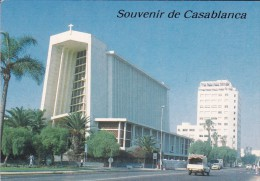MAROC---CASABLANCA---église Notre Dame---voir 2 Scans - Casablanca