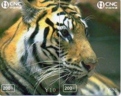 Puzzle Tigre Animal Félin Télécarte  Phonecard  Telefonkarte P57 - Puzzles