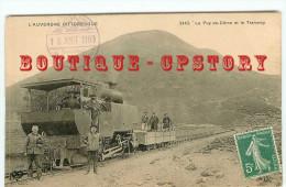 OF < TRAMWAY à CREMAILLERE En TRES GROS PLAN - CHEMIN De FER Du PUY De DOME < BAHN - RAILWAY - Tramways