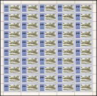 Rwanda 0586**  20c Marconi L´élettra Yacht-laboratoire - Feuille / Sheet De 25 MNH - Ruanda