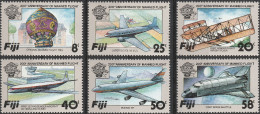 "FIJI 483-8 ""200 Jahre Luftfahrt"" MNH / ** / Postfrisch - Fiji (1970-...)"