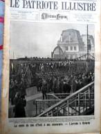 Le Patriote Illustré N°10 Du 06/03/1921 Ostende Bruxelles Yser Bastien Londres Allemagne Paris - Vieux Papiers