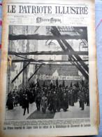 Le Patriote Illustré N°26 Du 26/06/1921 Louvain Loncin Bassenge Rhées  Herstal Liège Malines Vive Saint Bavon Horrues - Vecchi Documenti