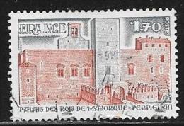 N° 2044  FRANCE  - OBLITERE -  PALAIS DES ROIS DE MAYORQUE -  1979 - France