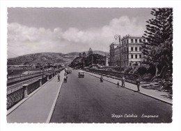 Italie Reggio Calabria Lungomare Promenade Le Long De La Mer - Reggio Calabria