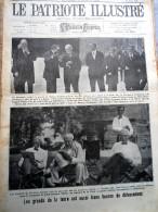 Le Patriote Illustré N°34 Du 21/08/1921 Berchmans Diest Malines Louvain Looz Loncin  Londres Maroc Melilla Espagne - Vecchi Documenti