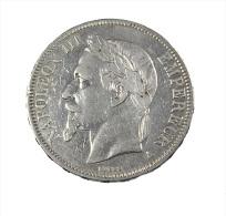 France - 5 Francs - Napoléon III - 1867 A - Paris - TB+ - Argent - - J. 5 Francs