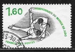 N° 2069  FRANCE  - OBLITERE -  CHAMPIONNAT DU MONDE DE JUDO  -  1979 - France