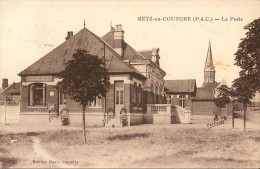 Metz En Couture- La Poste-cpa - France