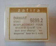 ZAFIRA DIAMANT STEREO NEUF SCELLE REFERENCE 5899.2 POUR AUDIO HITACHI ST 12/14 MT 12/14  TOURNE DISQUE CHAINE HIFI - Zubehör & Versandtaschen