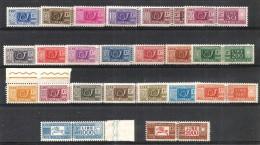1955 PACCHI POSTALI  Serie Completa 22v Nuova ** MNH - 6. 1946-.. Repubblica