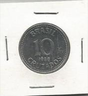G7 Brazil 10 Cruzados 1988. - Brésil