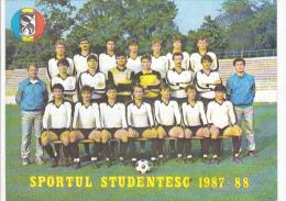 Romania - Soccer - Sportul Studentesc 1987-88 - Foto 200x150mm - Sport