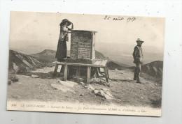 Cp , 63 , LE MONT DORE , Sommet Du SANCY , La Table D'orientation , écrite 1917 - Le Mont Dore