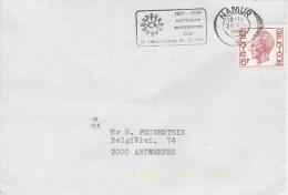 911 Conseil De L´Europe 1981 Urban Renaissance 1980/82 - Renaissance De La Cité - (der Städte)  NAMUR  TB - Marcofilia