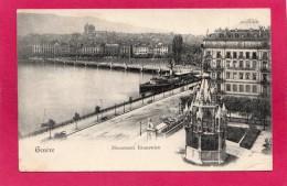 SUISSE GENEVE, Monument Brunswick, Précurseur, 1902, (Grand Bazar, Genève) - GE Genève