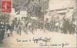 GAP Course Cycliste Avenue D'Embrun, En 1903. CPM éditée En 2003 Pour Le Tour De France. - Gap