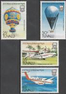 """TUVALU 199-202 """"200 Jahre Luftfahrt"""" MNH / ** / Postfrisch - Tuvalu (fr. Elliceinseln)"""