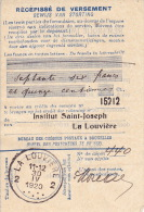 1920 - Institut Saint-Joseph - LA LOUVIERE - Belgium