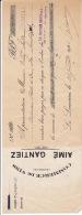 1921 - LA LOUVIERE - AIME GANTIEZ - Commerce De Vins - Belgium