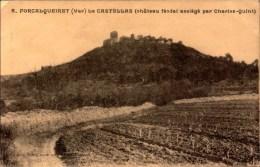 Var, Forcalqueiret, Le Castellas Chateau   (bon Etat) - Altri Comuni