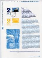 DOCUMENT OFFICIEL - 2014 -  CONSEIL DE L´EUROPE - Documenten Van De Post
