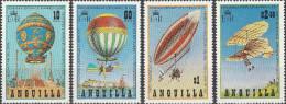 """Anguilla 546-9 """"200 Jahre Luftfahrt"""" MNH / ** / Postfrisch - Anguilla (1968-...)"""