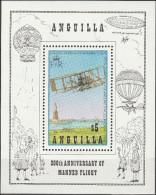 """Anguilla Block 50(550) """"200 Jahre Luftfahrt"""" MNH / ** / Postfrisch - Anguilla (1968-...)"""