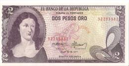 Billets - Colombie - 2 Pesos Oro - 1977 -  Neuf - Non Circulé - - Colombia