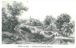Lyon  En 1850    Chateau De Jarnioux - Otros