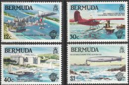 """BERMUDA 430-3 """"200 Jahre Luftfahrt"""" MNH / ** / Postfrisch - Bermuda"""