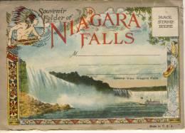 NIAGARA FALLS, Souvenir Folder, Carnet,  30 Different Views, Carte Systeme Unused - NY - New York
