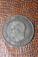 Deux Centimes 1856 K (Bordeaux) Napoléon III - 2 Centimes Bronze - Francia