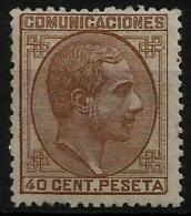 102320 España Edifil 195 * Catalogo 240,- - Nuevos