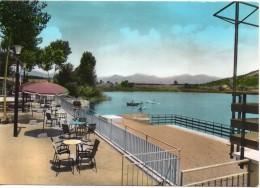 Lazio-latina-fondi Laghetto Ristorante Veduta Lago S.puoto Veranda E Arenile - Italia