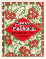 """04862 """"DITTA PIETRO BORTOLOTTI - BOLOGNA - ACQUA DI COLONIA"""" ETICHETTA ORIGINALE PER COSMESI. - Etichette"""