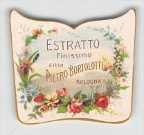 """04866 """"DITTA PIETRO BORTOLOTTI - BOLOGNA - ESTRATTO FINISSIMO"""" ETICHETTA ORIGINALE PER COSMESI. - Etiquetas"""