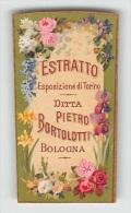 """04869 """"DITTA PIETRO BORTOLOTTI - BOLOGNA - ESTRATTO ESPOSIZIONE DI TORINO (1911)"""" ETICHETTA ORIGINALE PER COSMESI. - Etichette"""