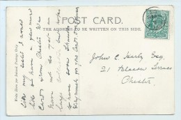 Coll (Scottish Island) Cancel On PC Of Kilchurn Castle - Postmark Collection